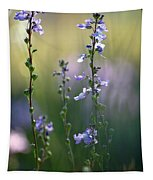 Flowers By The Pond Tapestry