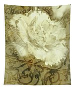 Flowers By The Window Tapestry