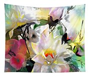 Flowers For My Friend Tapestry