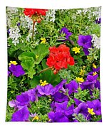 Flowers Of Bethany Beach - Petunias Tapestry