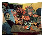 Flowers Of France Tapestry