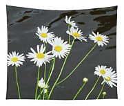 Flowers On The Water Tapestry