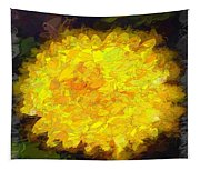 Flowery Acceptance In Abstract Tapestry