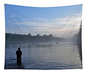 Flyfishing In Maine Tapestry