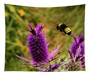 Flying Bee 2 Tapestry