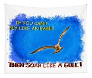 Flying Gull Tapestry