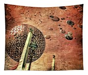 Flying Saucers Tapestry