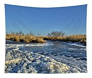 Foam On The Water Tapestry