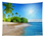 Focus On Palm Tree Tapestry
