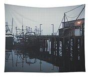 Fog Before Sunrise #2 Tapestry