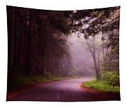Fog In The Redwoods Tapestry