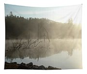 Fog On The Lake Tapestry