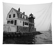 Foggy Day Sail Tapestry