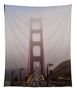 Foggy Golden Gate Tapestry