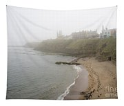 Foggy March In St. Andrews Tapestry