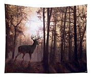 Foggy Morning In Missouri Tapestry