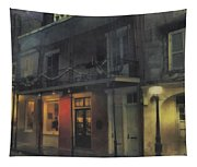 Foggy Night On Dumaine Tapestry