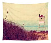 Foghorn At Big Sable Point Tapestry