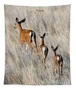 Following Mom Tapestry
