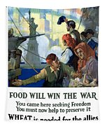 Food Will Win The War Tapestry