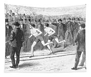 Foot Race, 1868 Tapestry
