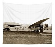 Ford 4-at-a Maddux Air Lines Los Angeles Circa 1928 Tapestry