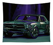 Ford Mustang 1967 Painting Tapestry