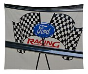Ford Racing Emblem Tapestry