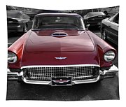 Ford Thunderbird Red V1 Tapestry