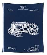 Ford Tractor Patent 1919 Tapestry