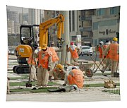 Foreign Workers - Manama Bahrain Tapestry