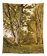 Forest At Fontainebleau Tapestry