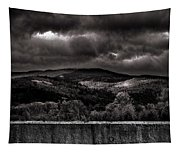 Forest Behind The Wall Tapestry
