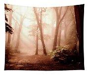 Forest Fog Tapestry