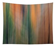 Forest Illusions -autumn Pastels Tapestry