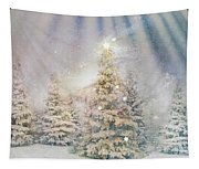 Forest Of Trees In The Light Tapestry