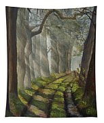 Forest Pathway Tapestry