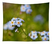 Forget Me Not Tapestry