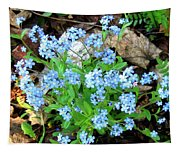 Forget-me-not Tapestry