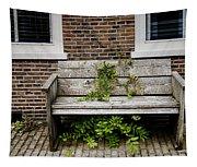 Forgotten Bench Tapestry