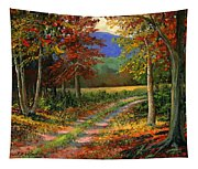 Forgotten Road Tapestry