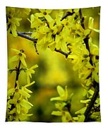 Forsythia At The Hacienda Tapestry