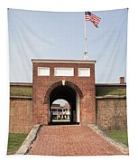 Fort Mchenry Gate In Baltimore Maryland Tapestry