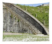 Fort Pickens Stairs Tapestry