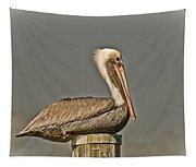 Fort Pierce Pelican Tapestry
