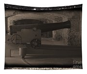 Fort Sumpter Cannon Tapestry