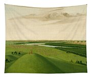 Fort Union Mouth Of The Yellowstone River 2000 Miles Above St Louis Tapestry