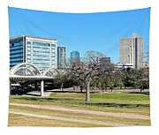 Fort Worth Wide Angle Tapestry