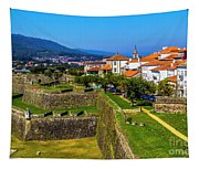 Fortress Walls Tapestry