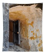 Fortress Window Tapestry